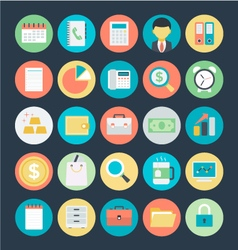 Finance icons 1 vector