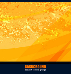 Background texture yellow vector