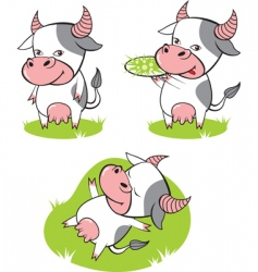 cow vector image