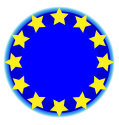 European union symbol vector