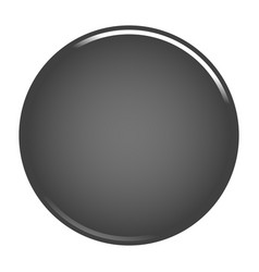 Gray circle button blank web internet icon vector