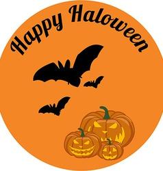 Happy haloween vector image