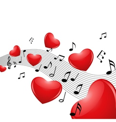 love music vector image