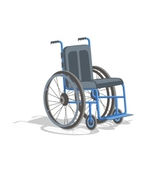 picture wheelchair vector image