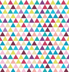 Seamless triangle pattern vector image vector image