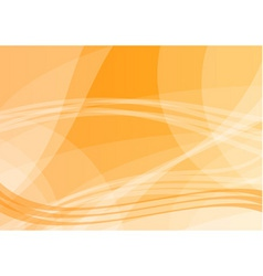 simple vector bacground in orange color vector image