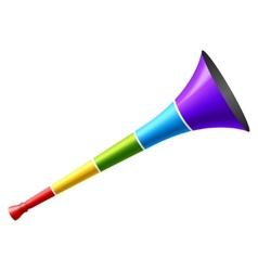 vuvuzela vector image vector image