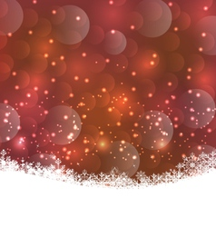 winter snowflakes background with copy space for vector image vector image