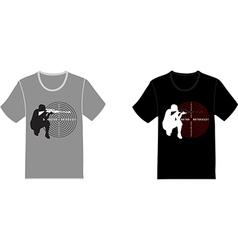 Set of t-shirts vector image