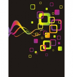 colorful abstract background vector image