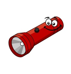 Cartoon flashlight vector
