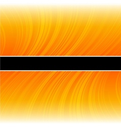 Abstract warped yellow stripes colorful background vector