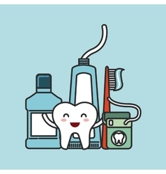 dental hygiene design vector image