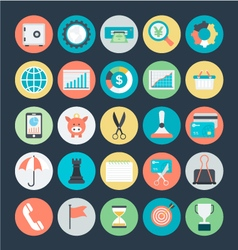 Finance Icons 2 vector image vector image