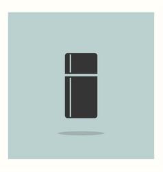 fridge icon simple vector image