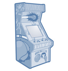 Game machine vector