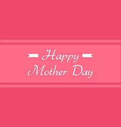 Background of mother day card vector