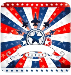 Elements and icons related to american patriotism vector