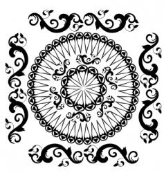 pattern vintage vector image vector image