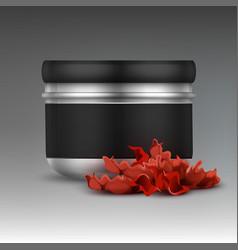 Shisha tobacco jar vector