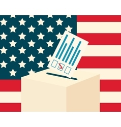 USA election concept vector image