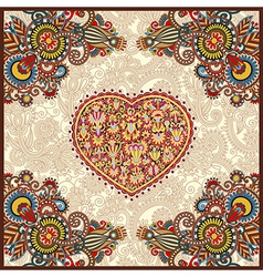 carpet design for valentines day vector image