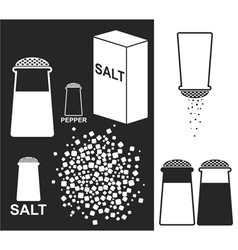 Salt pepper vector