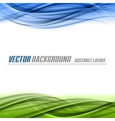 Green blue vector
