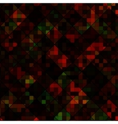 Square multicolor mosaic background vector