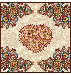 carpet design for valentines day vector image