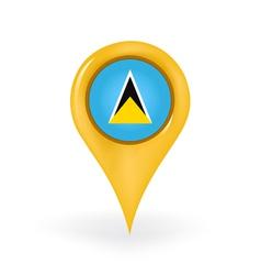 Location saint lucia vector