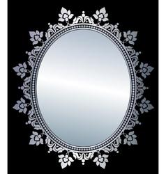 Mirror in frame vector