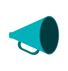 Megaphone tool communication design vector