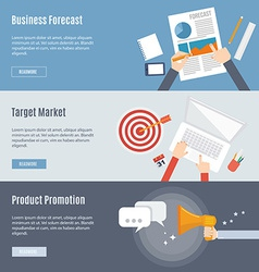 Element of market concept icon in flat design vector image