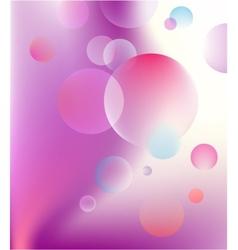 Abstract bubble baloon vector