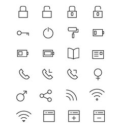 Ios and android icons 2 vector