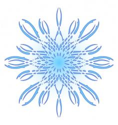 original snowflake vector image