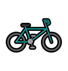 Sport bicycle vehicle vector