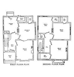 The baldwin floor plans ranch-style living vector