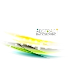 Wave abstract background vector