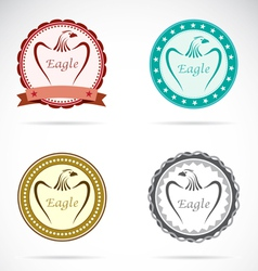 Eagle labels vector
