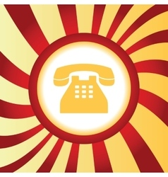 Phone abstract icon vector