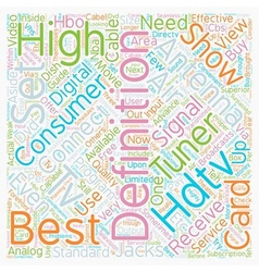 Best hdtv antenna 1 text background wordcloud vector