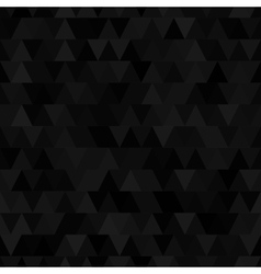 Black triangle seamless pattern vector image