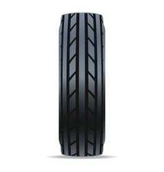 modern road car tire icon vector image vector image