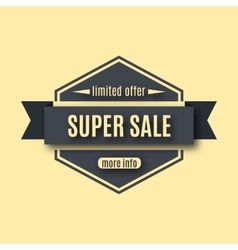 Set sale labels vector image