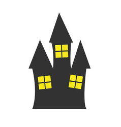 Simple old house vector