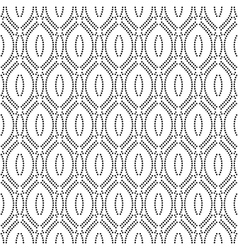 Geometric abstract seamless pattern black vector