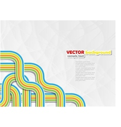 Background abstract style vector