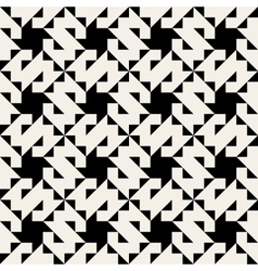 Seamless Geometric Triangle Square Pattern vector image